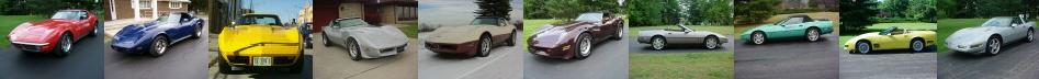 archived corvettes muscle cars by thevettemasters.com